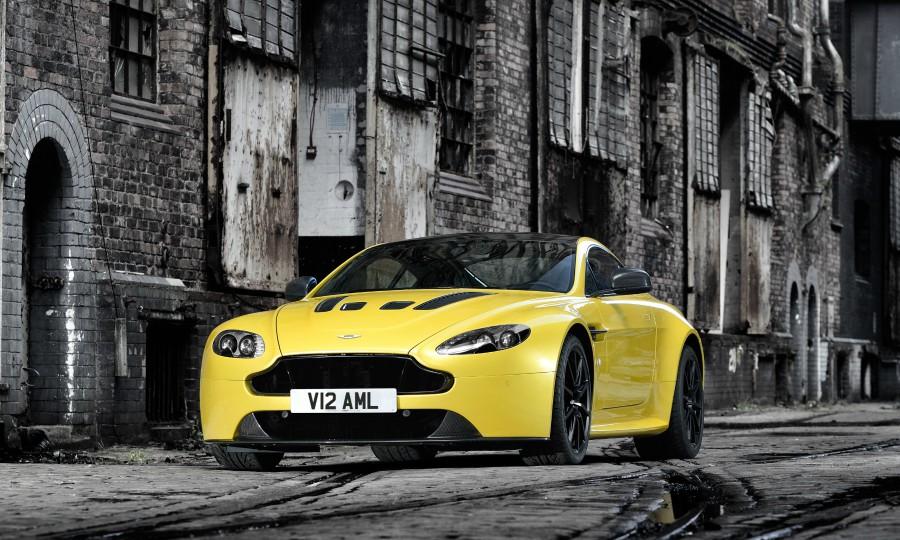 Aston Martin recalls Vantage cars over transmission software