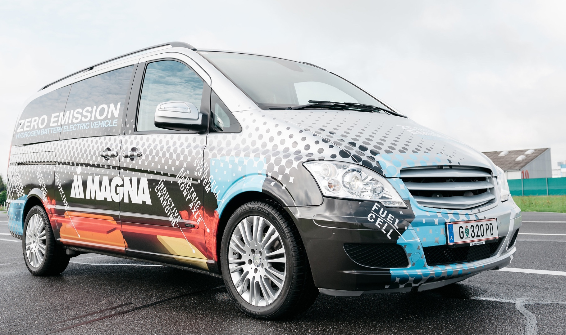 A closer look at Magna's fuel cell and battery electric