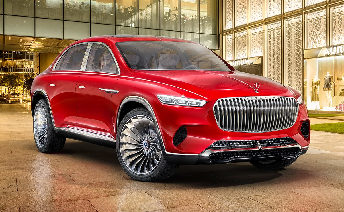 Mercedes Will Build Maybach Suv At Its U S Plant
