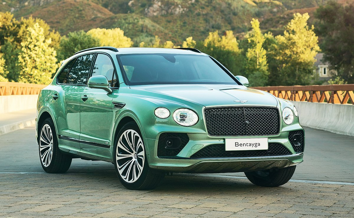 For Bentley Bentayga Being First Has Its Advantages
