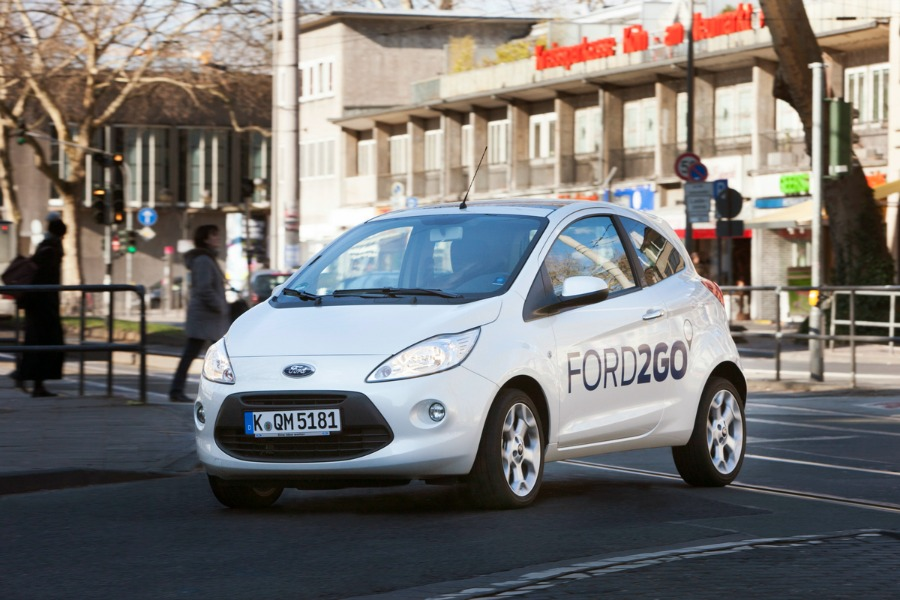 Ford joins Europe car-sharing sector as demand surges