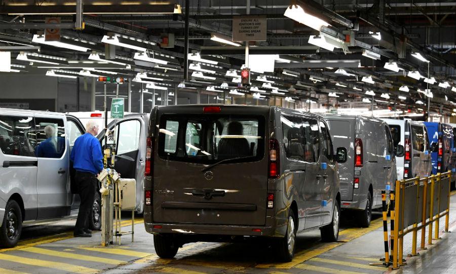 d4fc51511345d4 PSA will boost van production at Vauxhall plant in UK