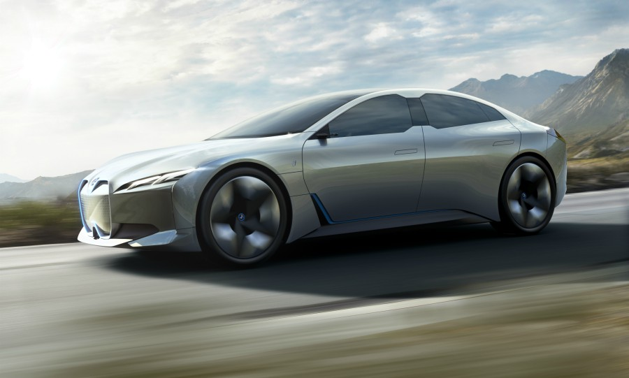 A Key Part Of Bmw S Push Into Full Electric Vehicles Will Be The I4 Which Based On I Vision Dynamics Concept Shown