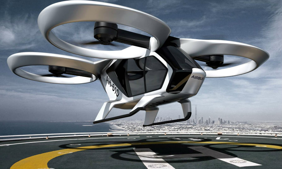 Airbus flying taxi could be in cities by 2025