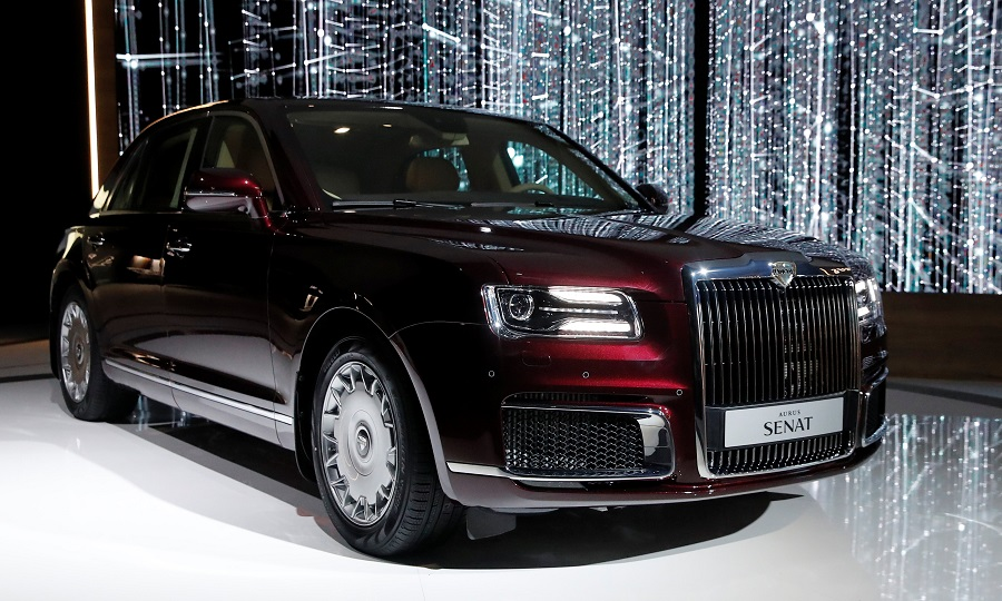 Russia S Aurus Plans Ultraluxury Vehicles To Challenge Rolls Royce Bentley