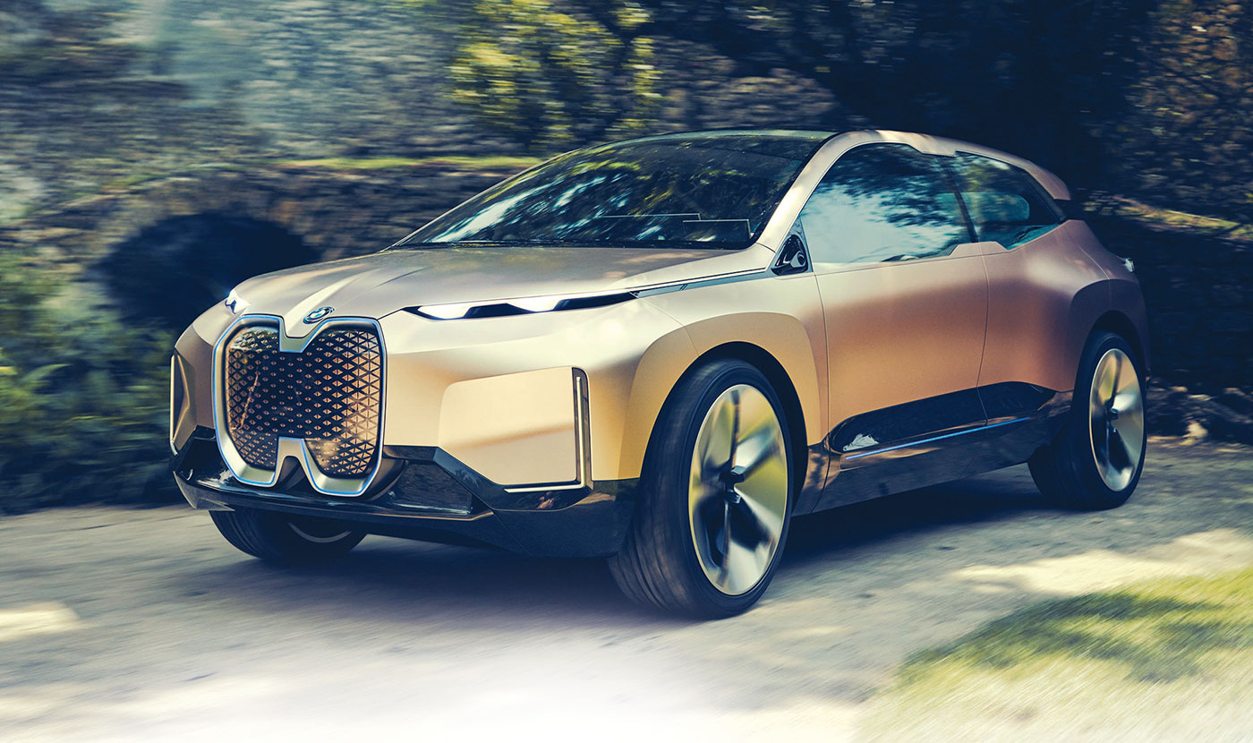 Bmw S Vision Inext Previews Ev Flagship