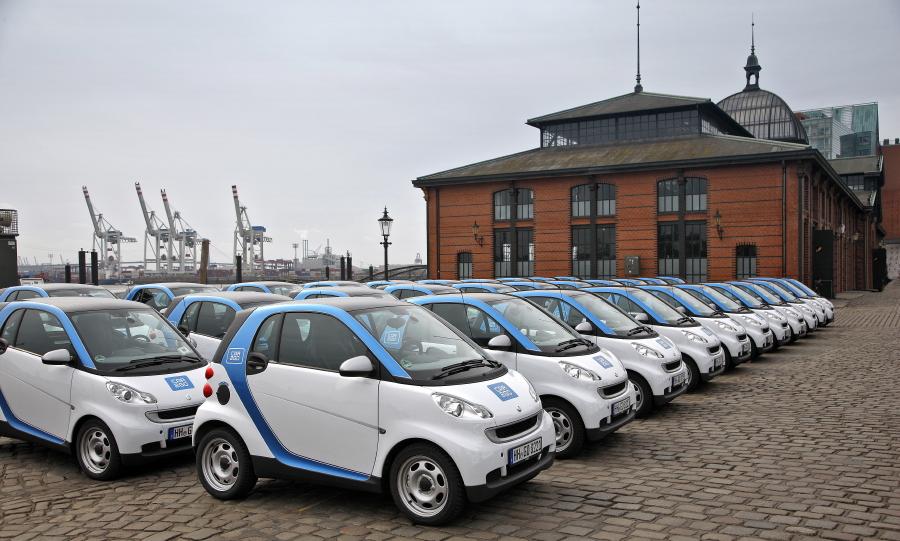 Daimler Bmw Bullish On Car Sharing