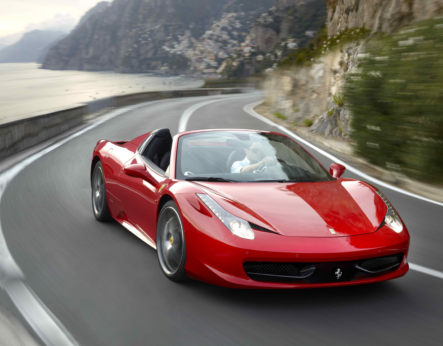 ferrari prices 458 spider at 226,800 euros