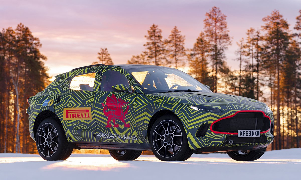 Aston Martin Buys An Expensive Insurance Policy For New Suv