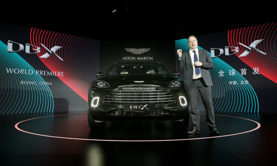 Aston Martin Ceo Counts On First Suv To Return Struggling Brand To Profit