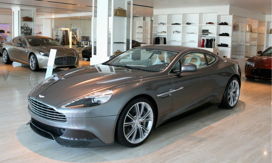 Aston Martin Writes Off 24 Million After Losing Sale Of Vanquish Tooling Design Drawings