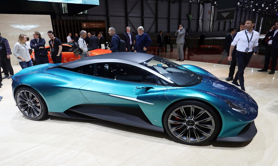 Aston Martin resurrects Vanquish name with mid-engine concept
