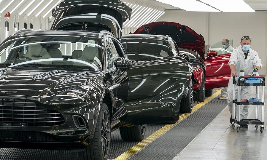 Aston Martin Cuts Jobs At Dbx Plant In Uk