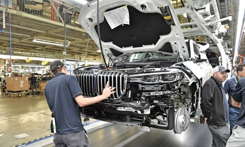 Bmw S Biggest Factory In U S Sets Production Record