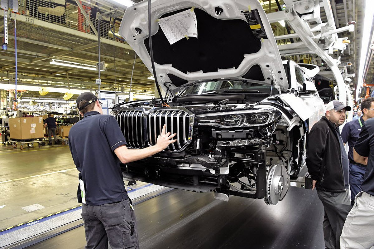 Bmw Plans To Reopen Suv Factory In U S