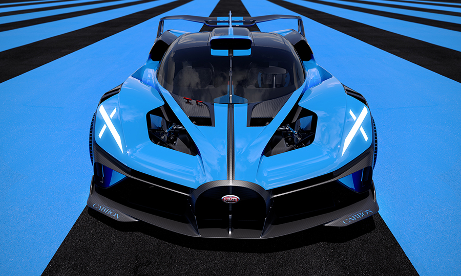 The Bugatti Bolide Is A Study In Speed Set For The Track