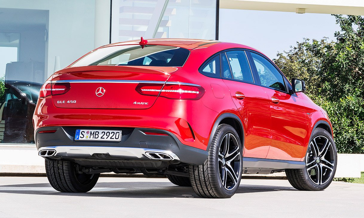 Mercedes Gle Coupe Takes On Bmw X6 For Suv Buyers Seeking Curves