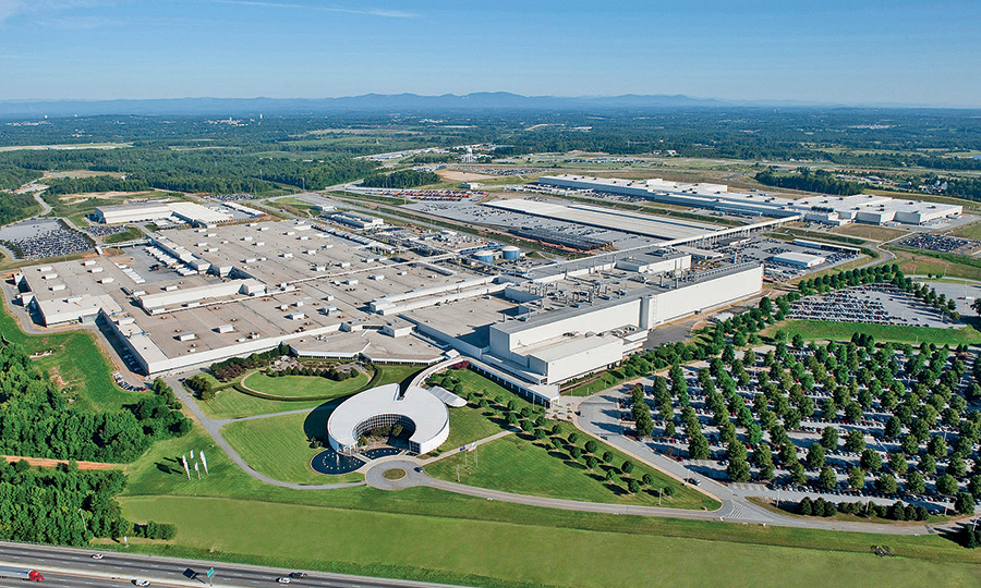 Bmw S U S Plant Will Expand Capacity This Year