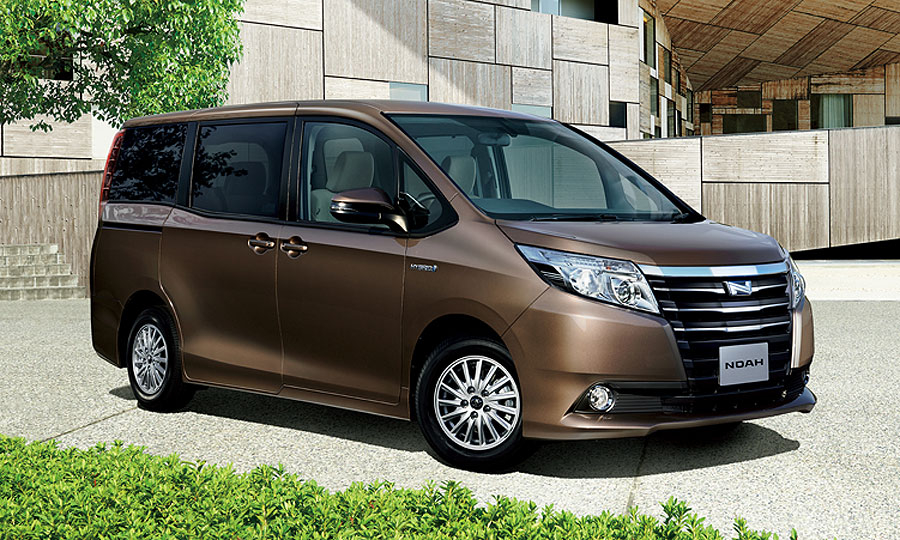for china, toyota will consider smaller vans more akin to the voxy or noah,  pictured, sold in japan