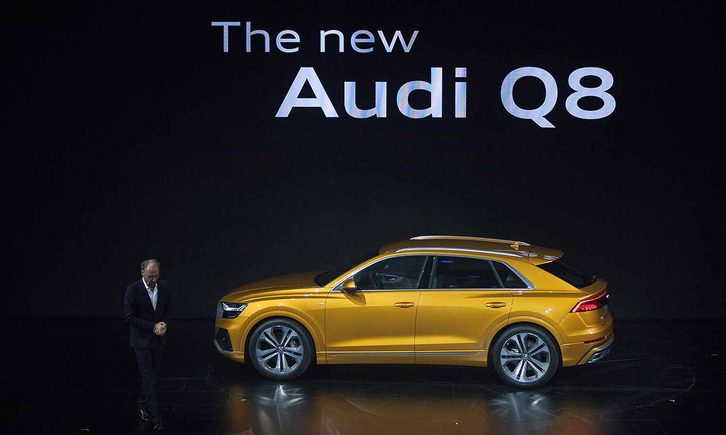 מגניב Audi Q8 debuts in China IS-01