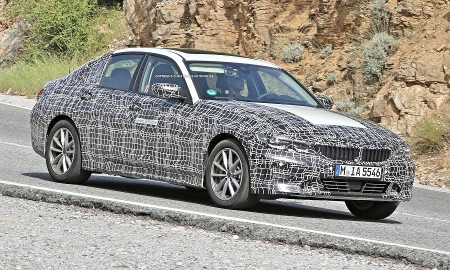 Bmw Tests Electric 3 Series