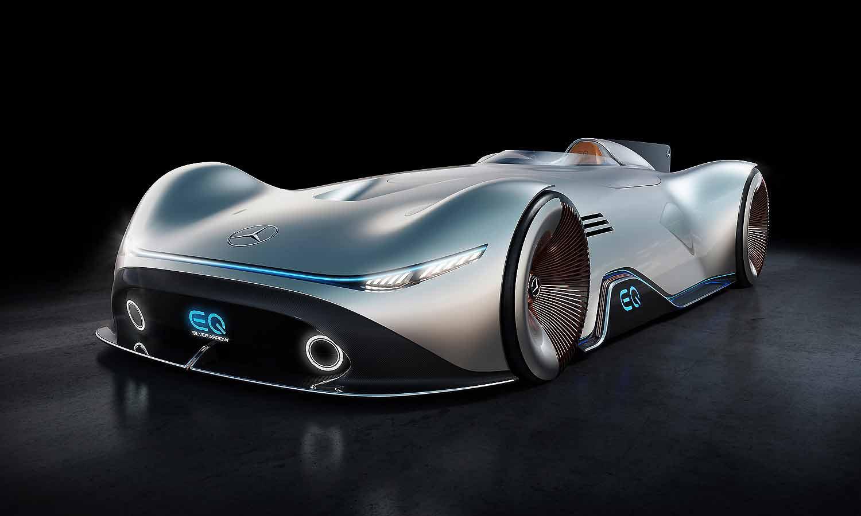 Eq Silver Arrow Hints At Mercedes Electric Future