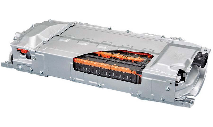 Lithium Ion Batteries Such As This Will Go Into Upper Trim Prius Models The Base Model Get Nickel Metal Hydride