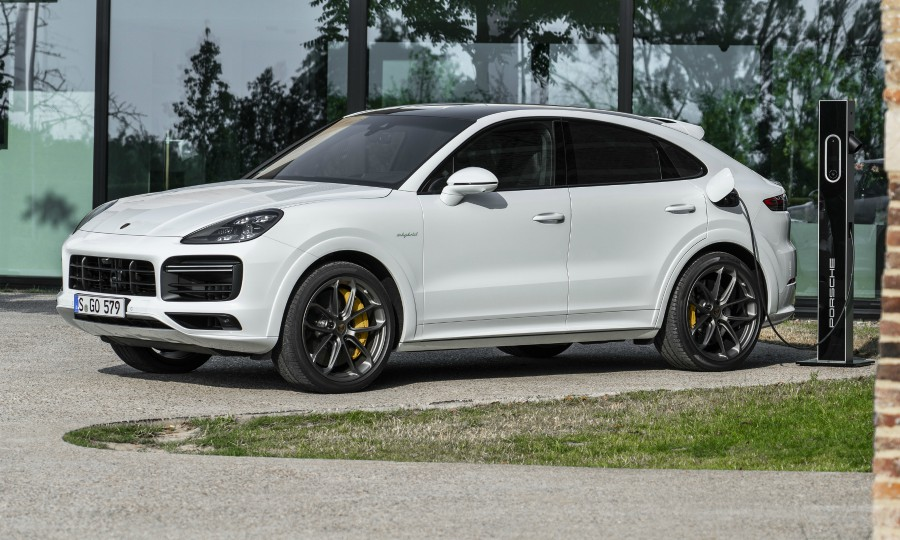 Porsche Adds Plug In Hybrid Option To Cayenne Coupe