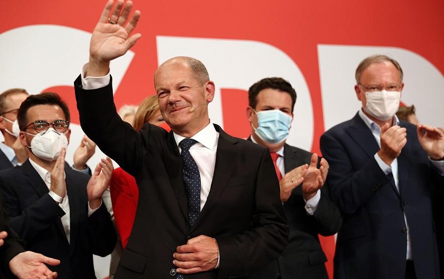 SPD's Olaf Scholz