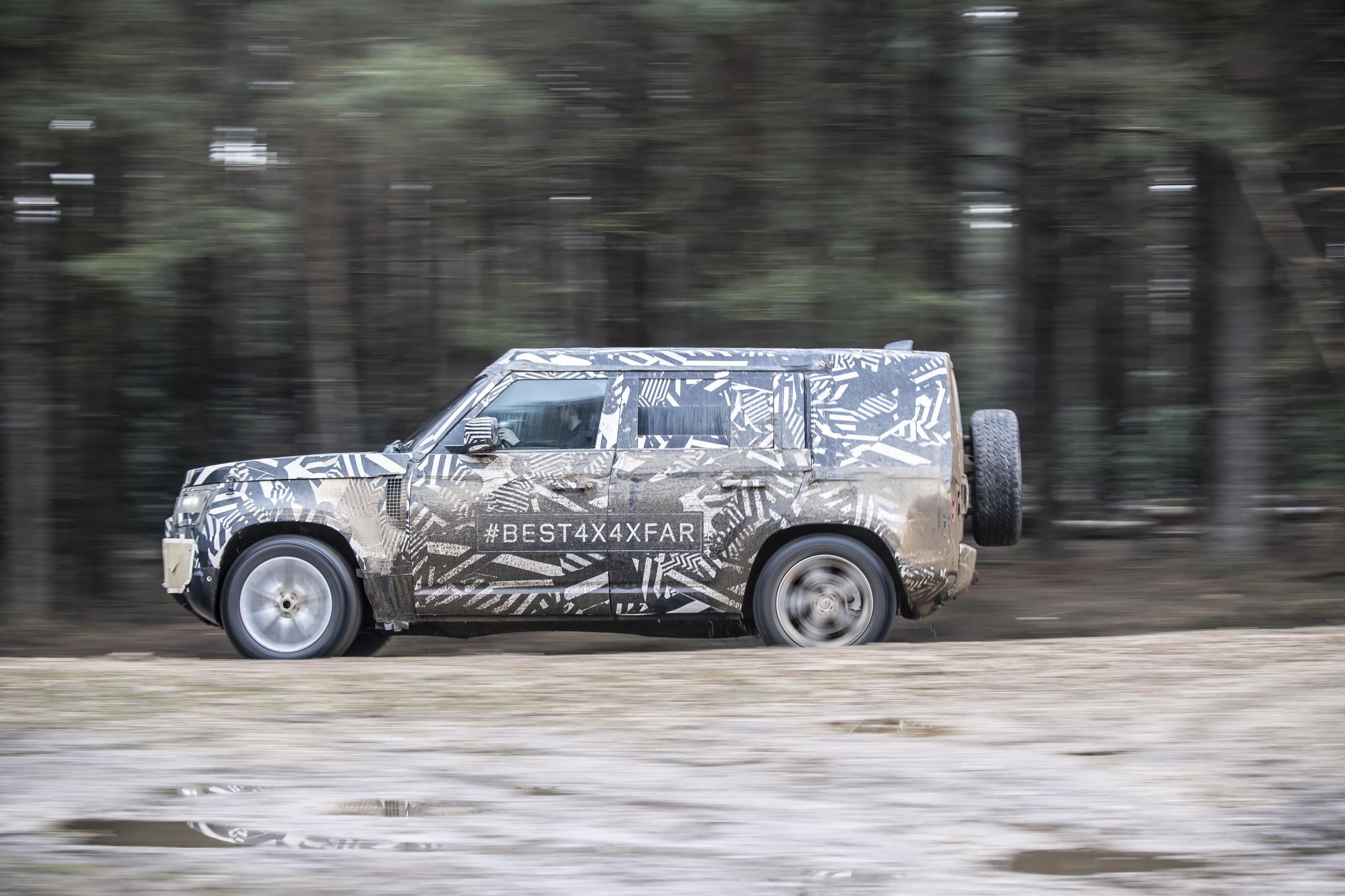 Land Rover to offer Defender with 6-cylinder diesel in U S