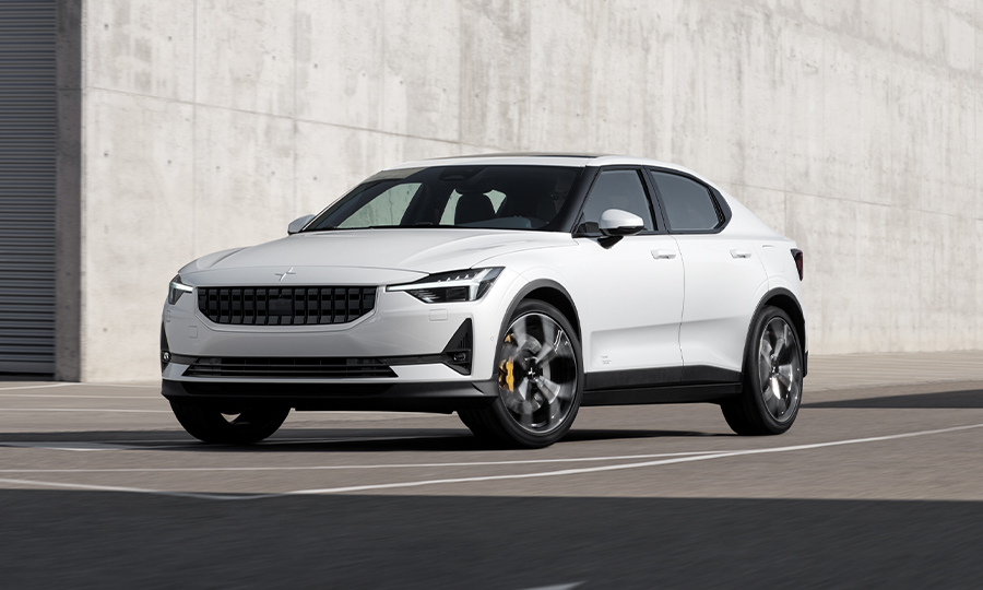 Polestar reveals Tesla Model 3 rival with 400-hp, 500-km range