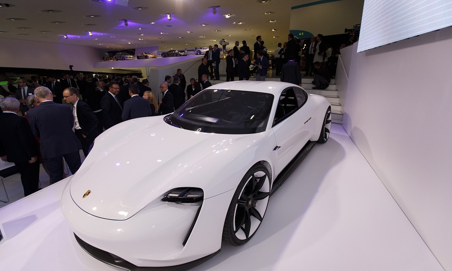 Porsche Said The Taycan Its First Battery Ed Series Production Car Will Have An Authentic Sound Mission E Concept Shown Previews