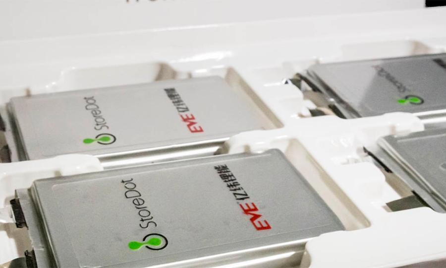 StoreDot battery cell