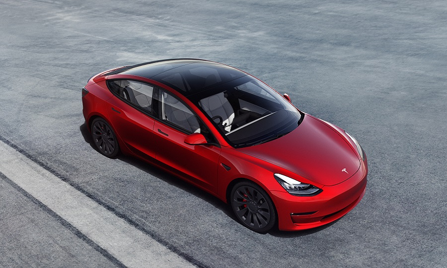 Tesla Model 3 right hand drive