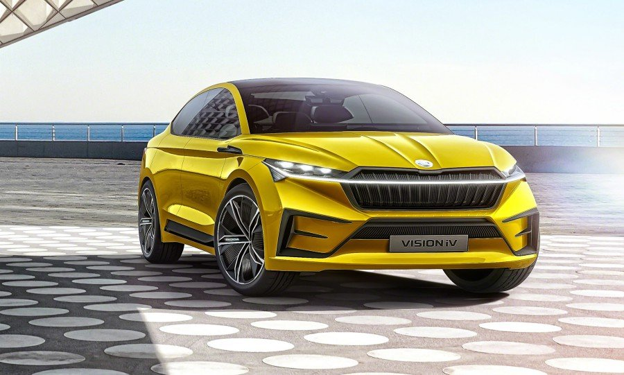 Skoda's Vision iV electric concept has self-driving tech