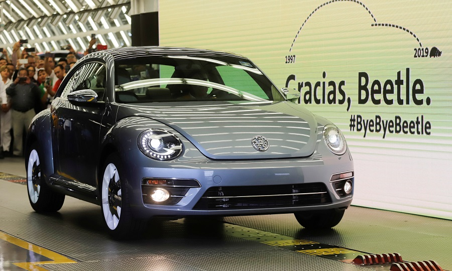 Volkswagen ends Beetle production in Mexico