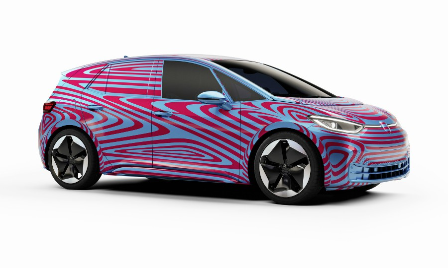 VW ID3 electric car exceeds expectations but trails Tesla Model 3