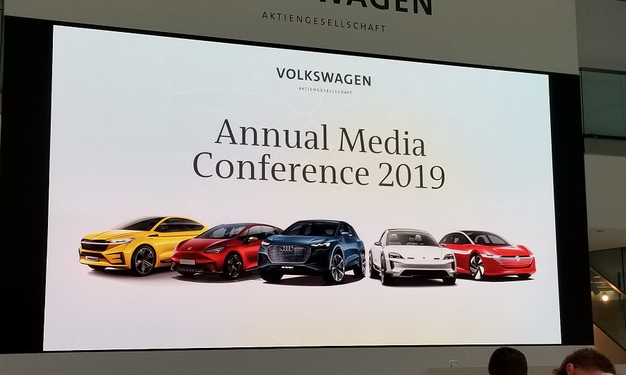 Volkswagen Group Latest Models >> Vw Accelerates Electric Push With More Models More Production