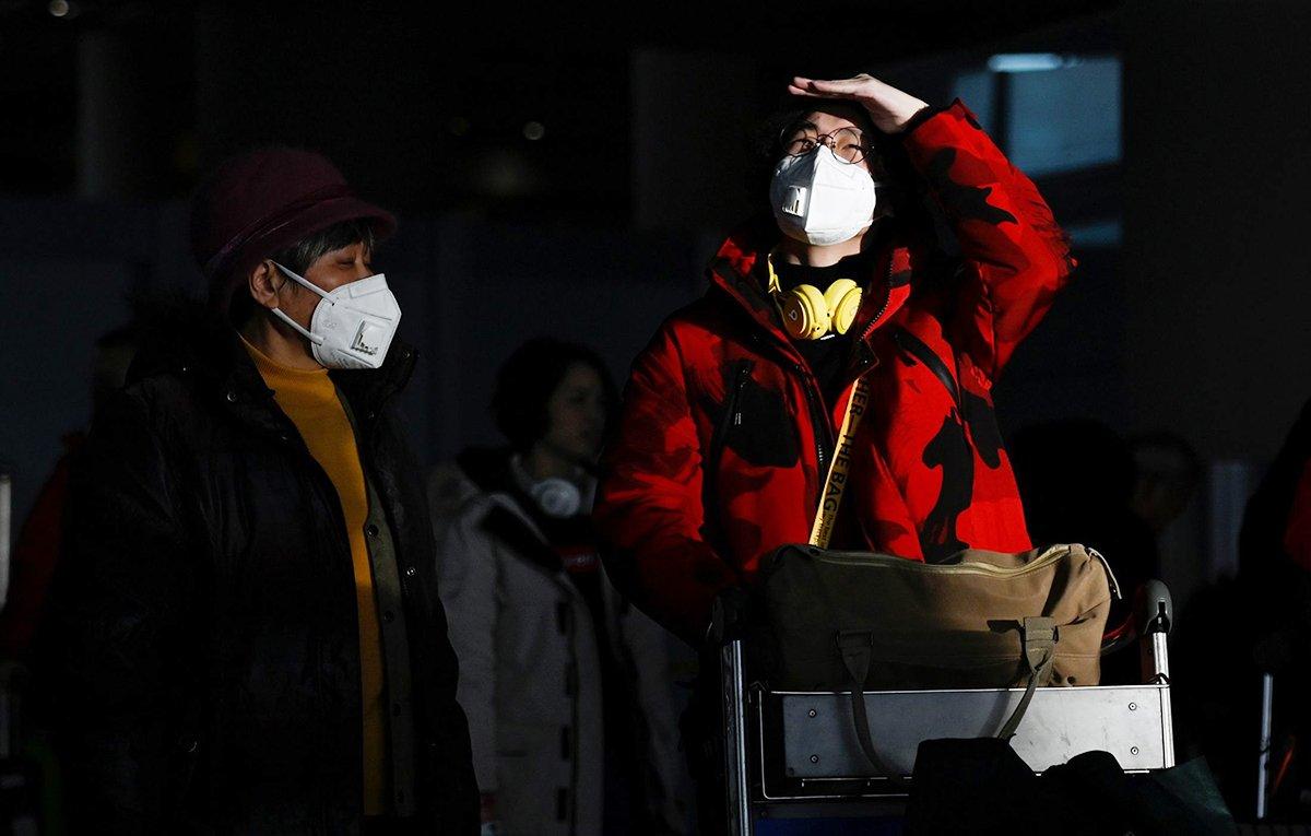 travel mask virus
