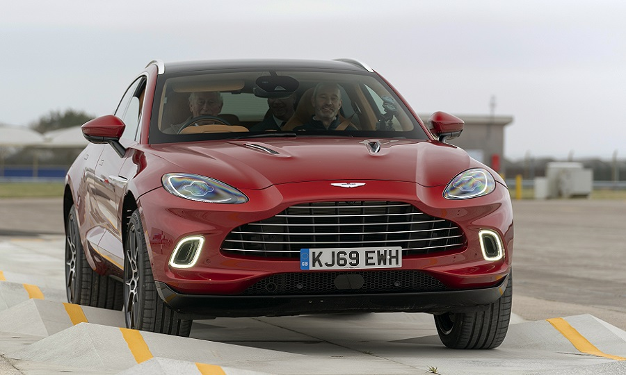 Aston Martin Plans Production Surge As New Suv Brightens Outlook