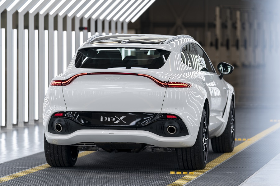 Aston Martin To Restart Output Of Its First Suv