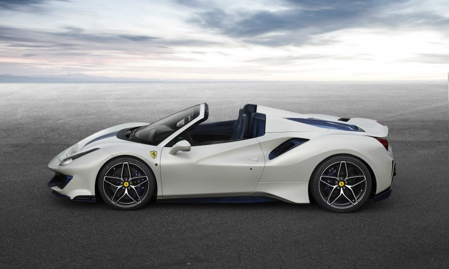 Ferrari 488 Pista Spider is its most powerful convertible yet