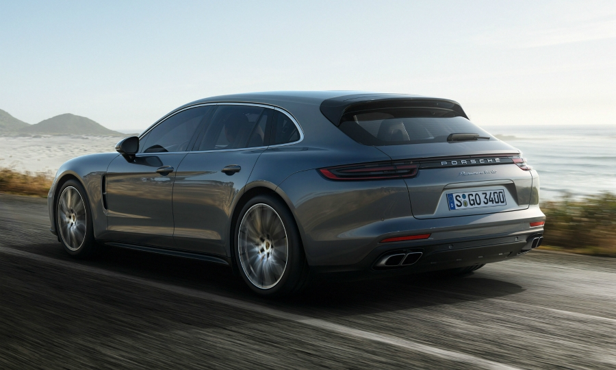 Porsche offers a 'practical' car with its first wagon