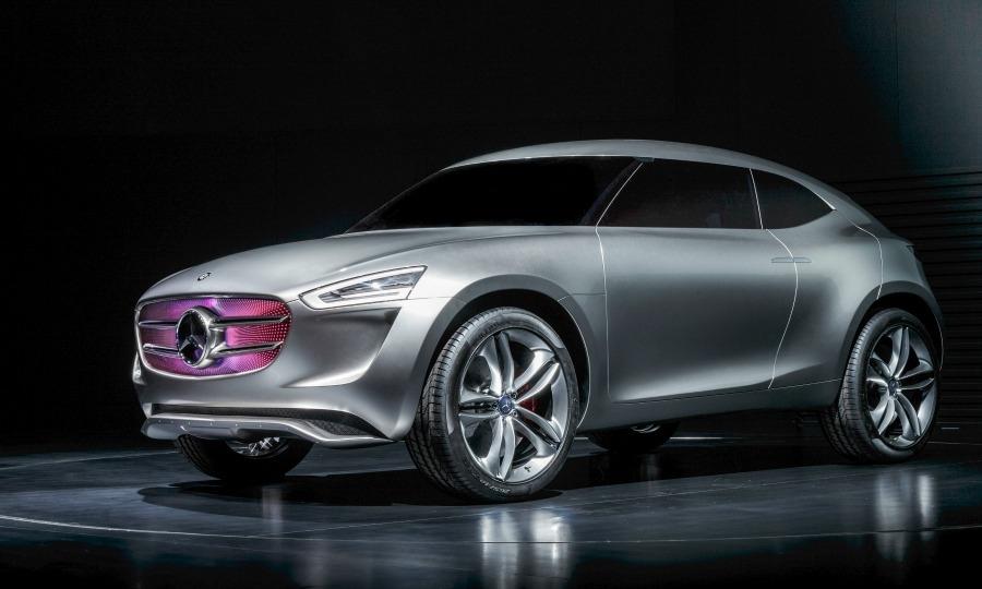 Mercedes G-Code concept previews Audi Q1 rival, reports say