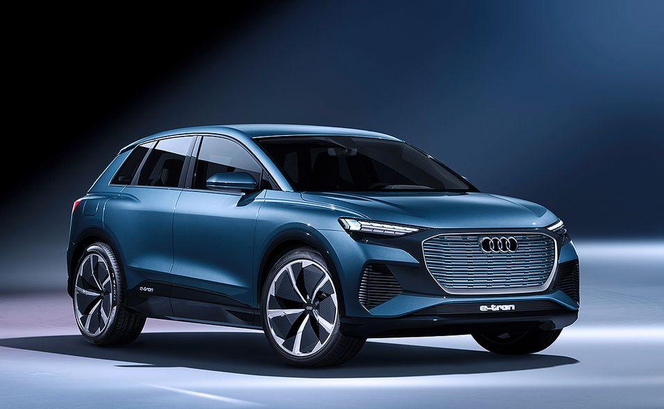 Audi Q4 Sportback e-tron concept photo gallery
