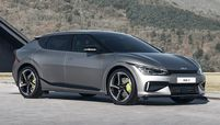 Kia EV6 GT exterior front 2021