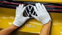 VW ID4 badge