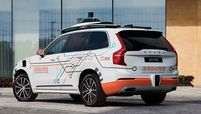 Volvo XC90 with DiDi autonomous test car