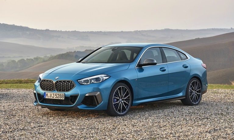 BMW expands 2 series with fwd coupe-styled sedan