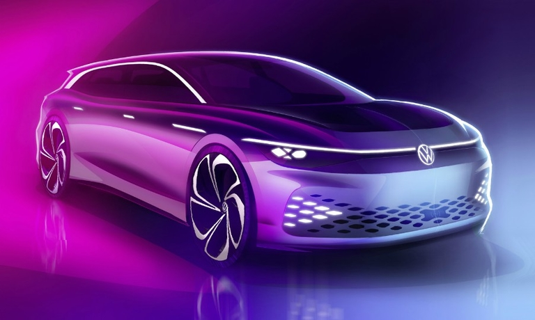 VW concept points to future electric wagon